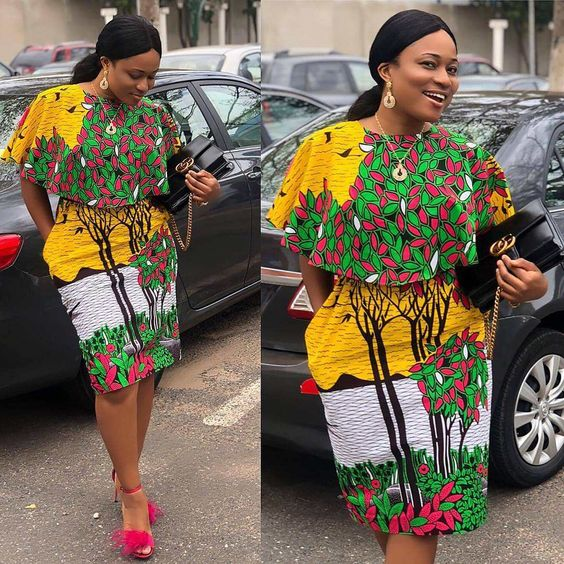 2018 Ankara Short Gown Styles Latest Ankara Styles