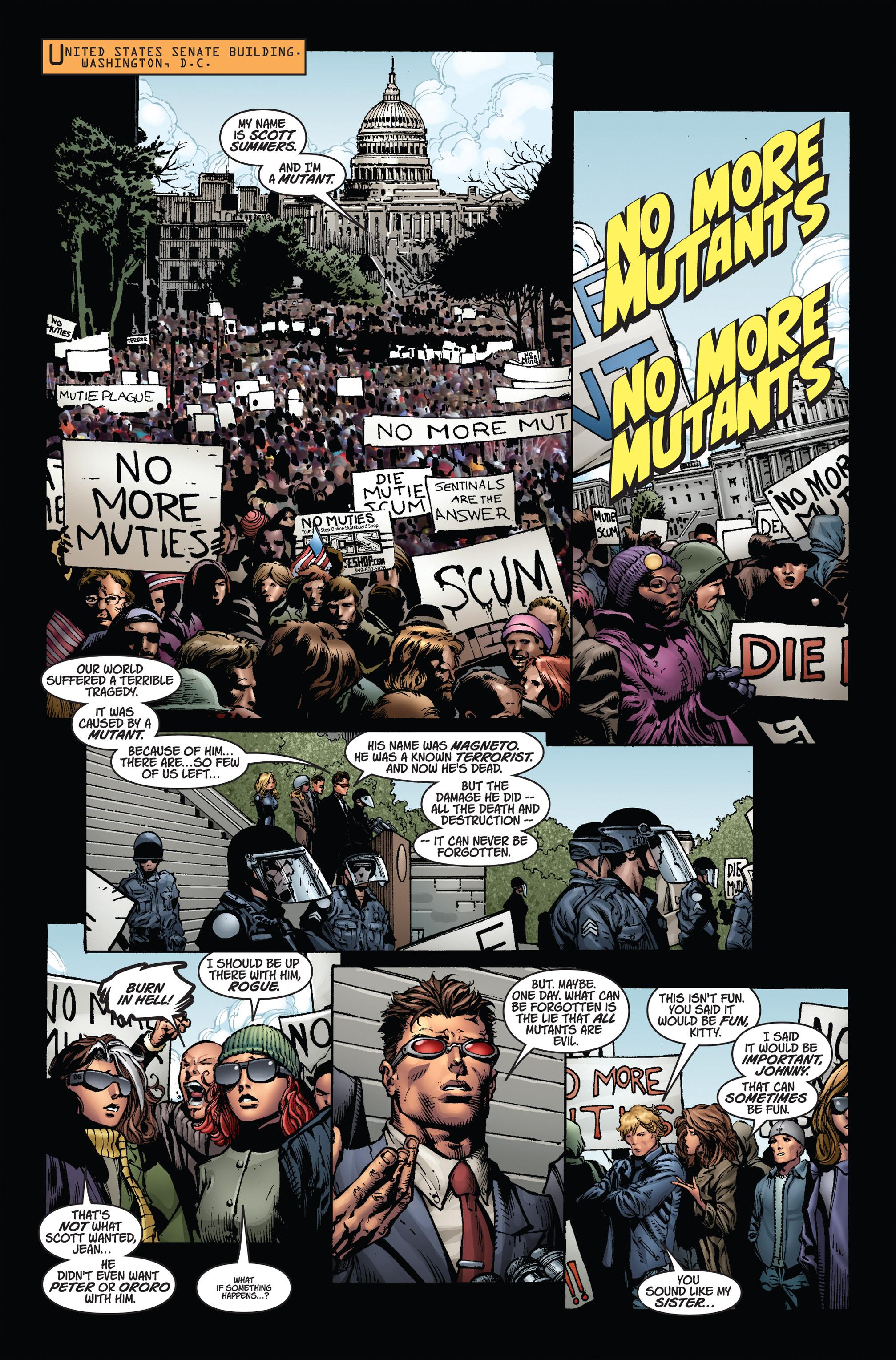 Read online Ultimatum comic -  Issue # _TPB - 110