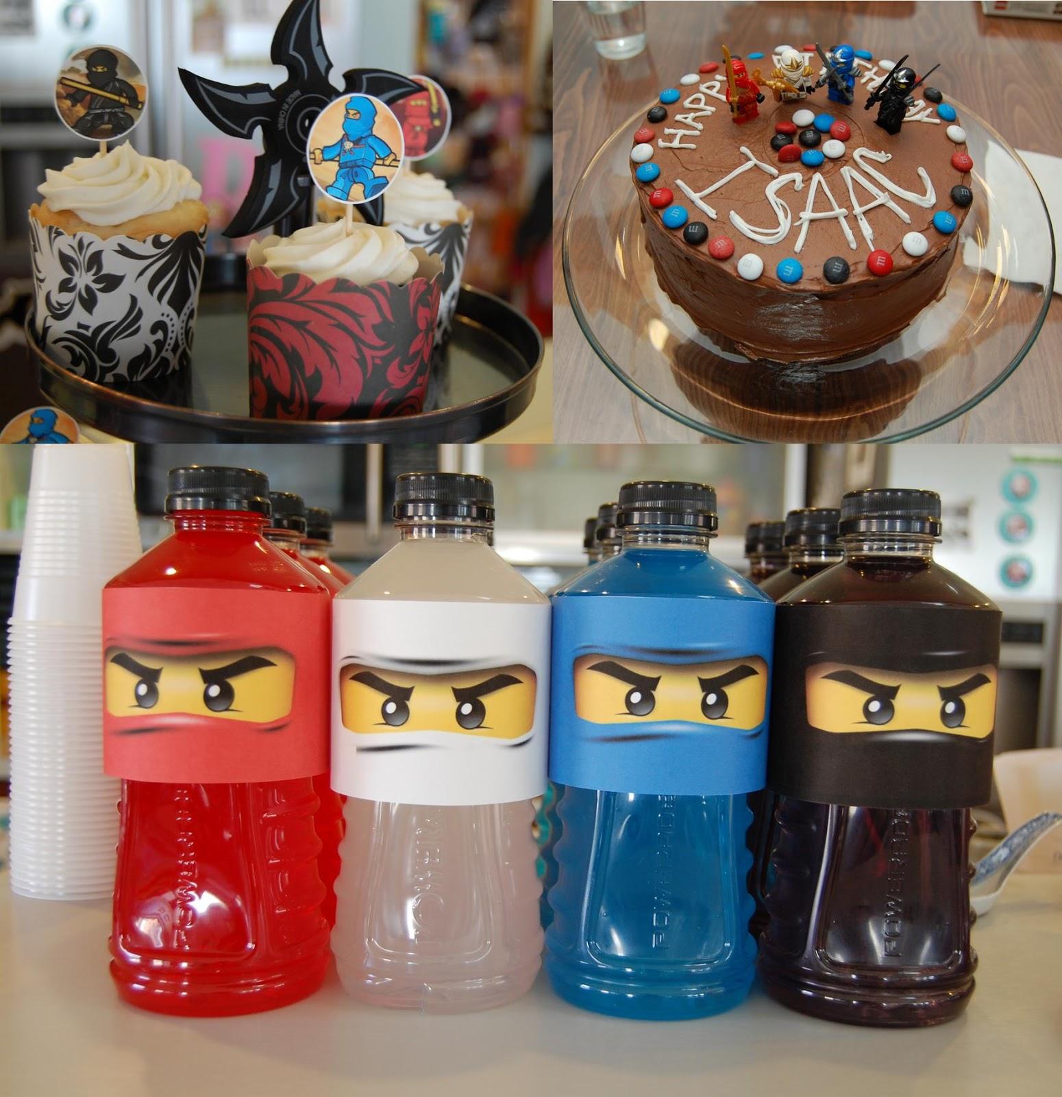 "A Lego Ninjago Birthday Party: ""C"" Is For Crafty: Ninjago Party"