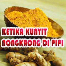 DIARY DODOL : KETIKA KUNYIT NONGKRONG DI PIPI