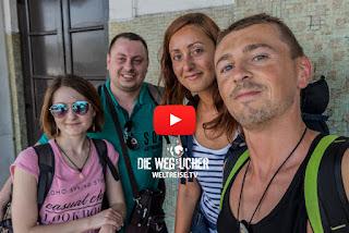 Weltreise Die Wegsucher Arkadij und Katja aus Bremerhaven in Sri Lanka, krasse Durchreise, WELTREISE.TV