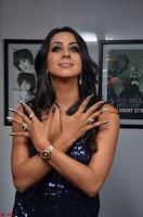 Sanjana looks happy in sparkling short Deep neck Purple Gown ~  Exclusive 53.JPG
