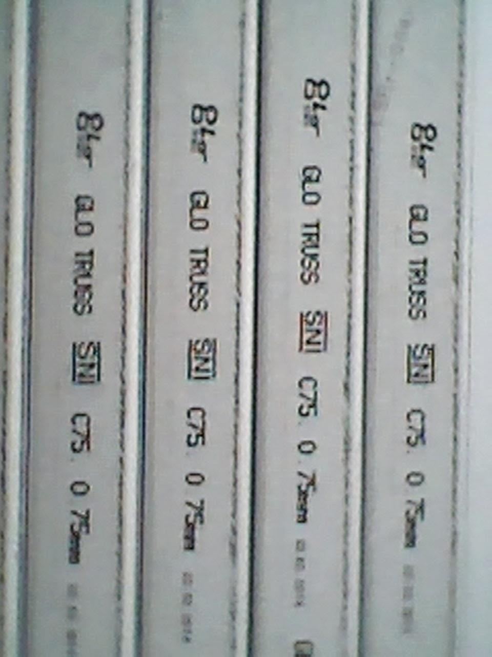 perbedaan baja ringan galvanis dan zincalum galvalume lamon toya