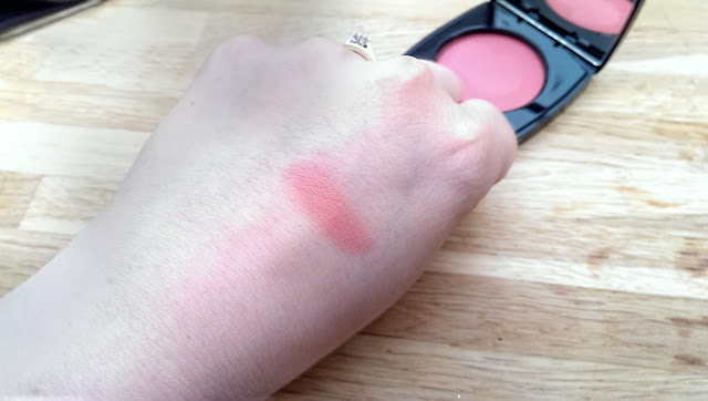 A swatch of the Chanel creme blusher in their Autumn 2013 collection in Revelation