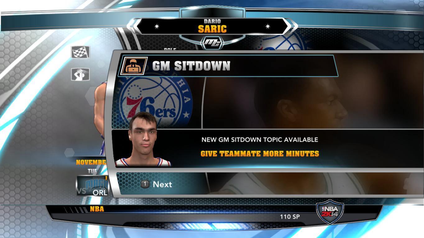 NBA 2k14 MyCareer Mod : Dario Saric - hoopsvilla