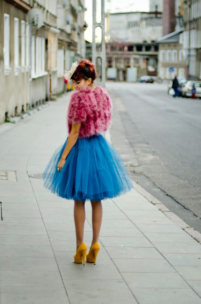 imagenes de faldas de tul los años 80
