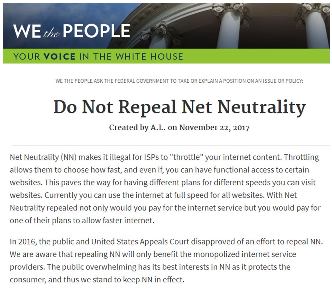 net neutrality repeal impact - HD1125×992