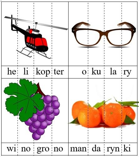 Ilustracje czterosylabowe