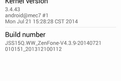 Cara Update Firmware ZenFone 4 ke 3.4.10