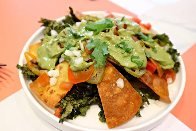 Kale Nachos at Fedwell Citywalk Review