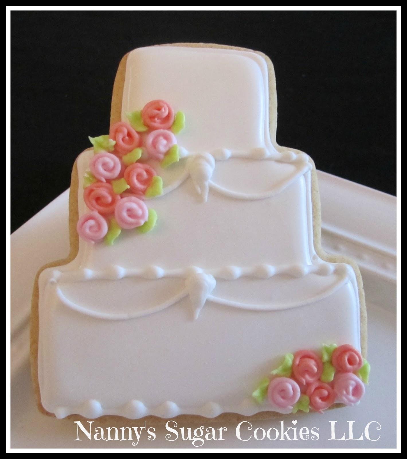 Nannys Sugar Cookies Llc Bridal Shower Cookie Favors