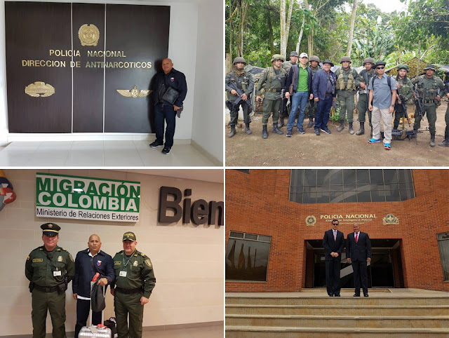 PNP Chief Dela Rosa Is In Colombia Studying Counter-Terrorism and Narcotics To Step Up Anti-drug and Crime Campaign! AWESOME!