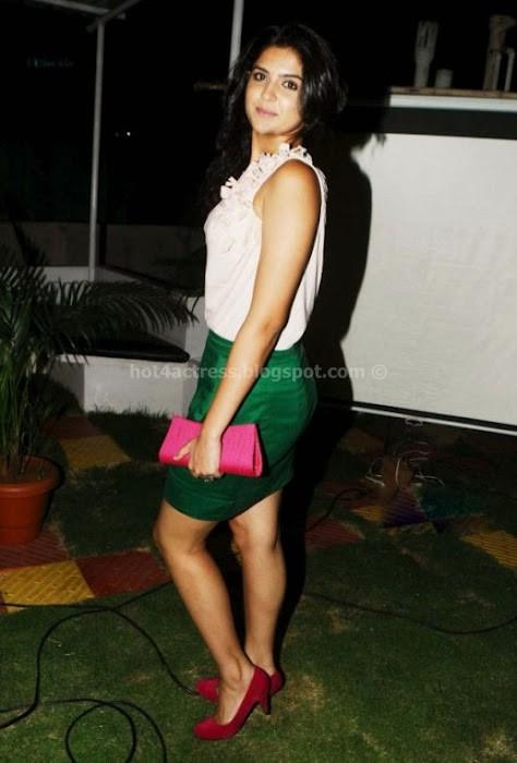 Deeksha Seth Cute in Skirt Gallery