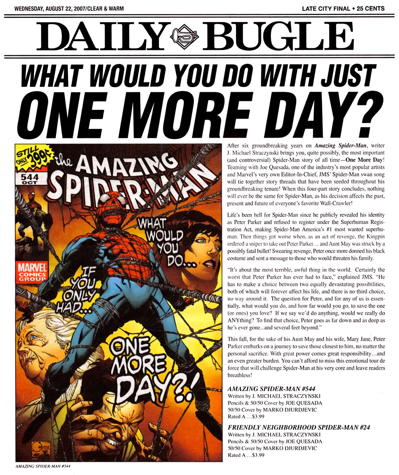 Read online Daily Bugle (2006) comic -  Issue #12 - 2