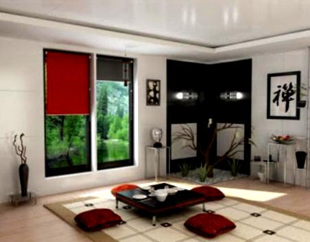 Desain Interior Ruang Tamu Minimalis Ber A Jepang