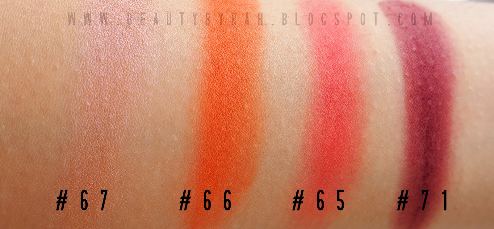 Morphe brushes single eyeshadow swatches red and burgundy