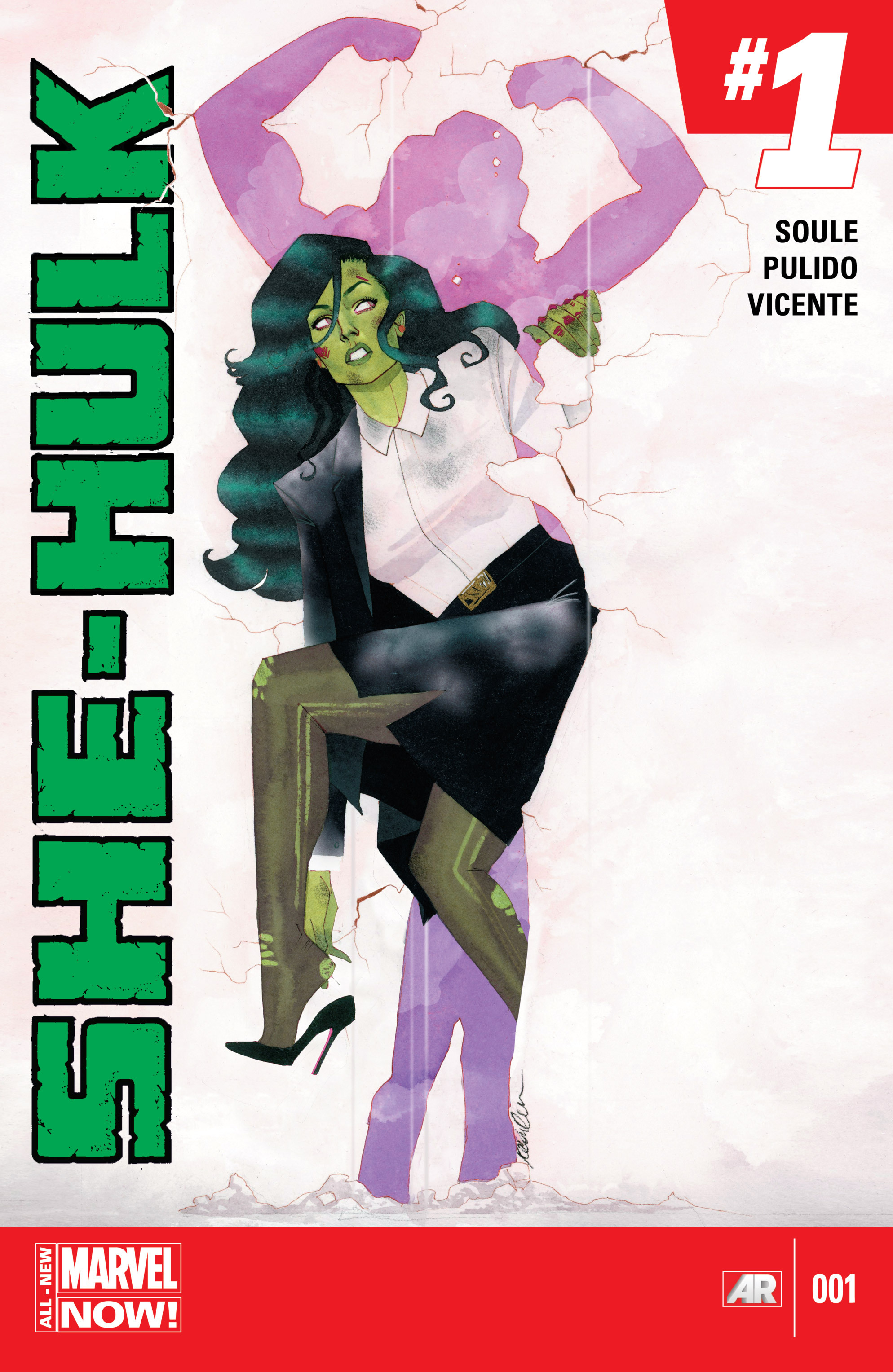 Read online She-Hulk (2014) comic -  Issue #1 - 1