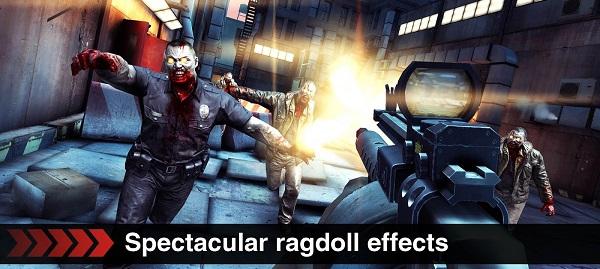 permainan tembak tembakan Dead Trigger