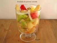 Ensalada de patata variada