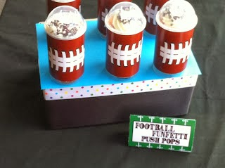 Football Push Pop Printable