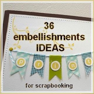 More than 36 embellishments ideas