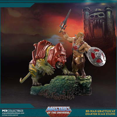 He-Man e Battlecat by Pop Culture Shock