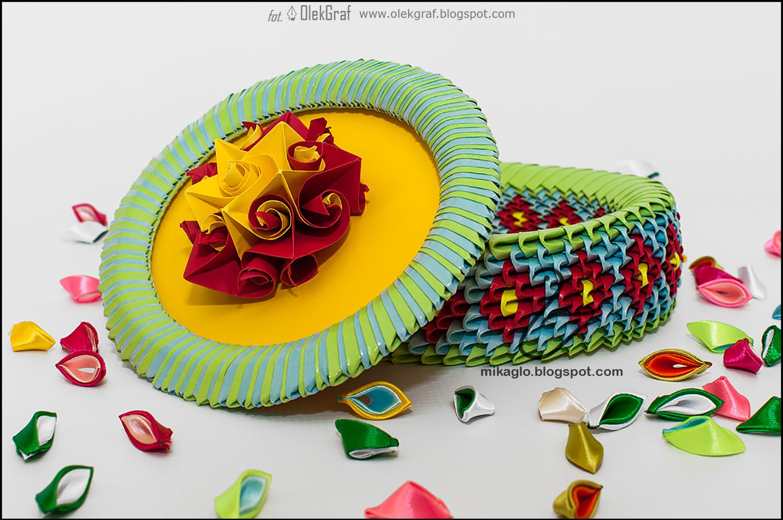 Origami 3d - mikaglo: 499. Szkatułka z origami / 3d ... - photo#20