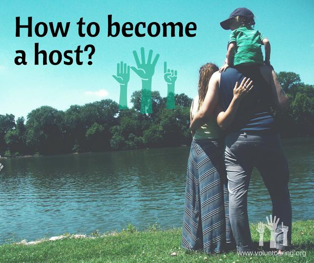 host - volunteering