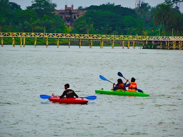 Boating at Eco Tourism Park, Kolkata