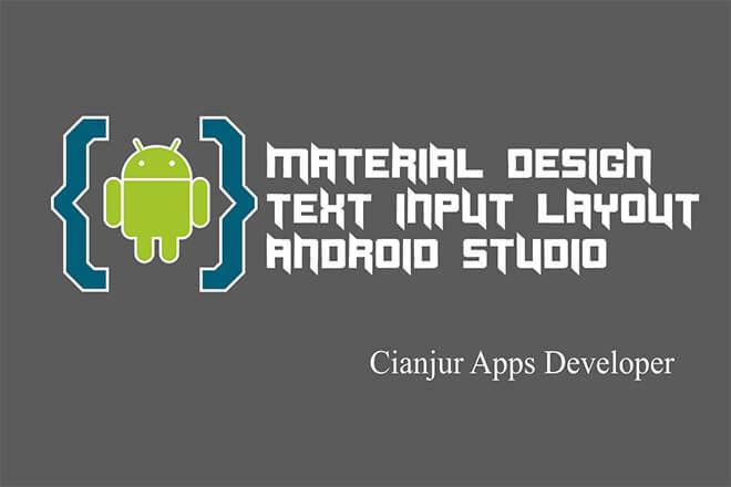 WildanTechnoArt-Belajar Cara Membuat TextInputLayout Android Material Design