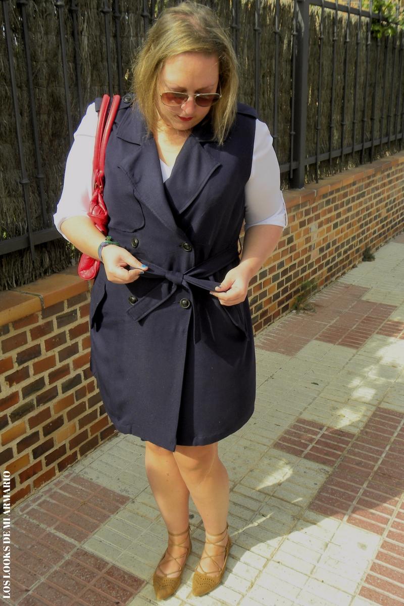 Mi nuevo chaleco vestido look curvy los looks de mi - Violeta mango madrid ...