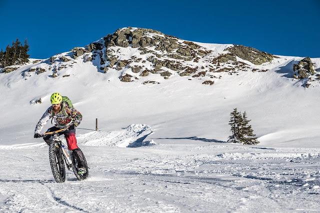 Fatbiken im Winter Strecken
