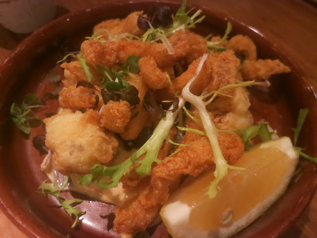 Calamari and Cauliflower Fritti