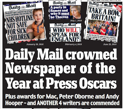 British Press pays homage to Emperor Dacre