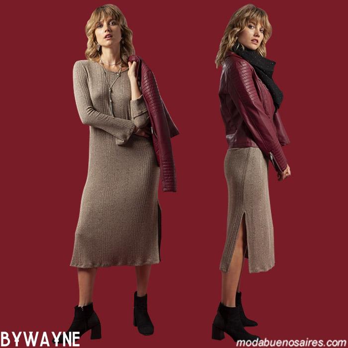 Vestidos otoño invierno 2019. Moda otoño invierno 2019 ropa de mujer argentina.