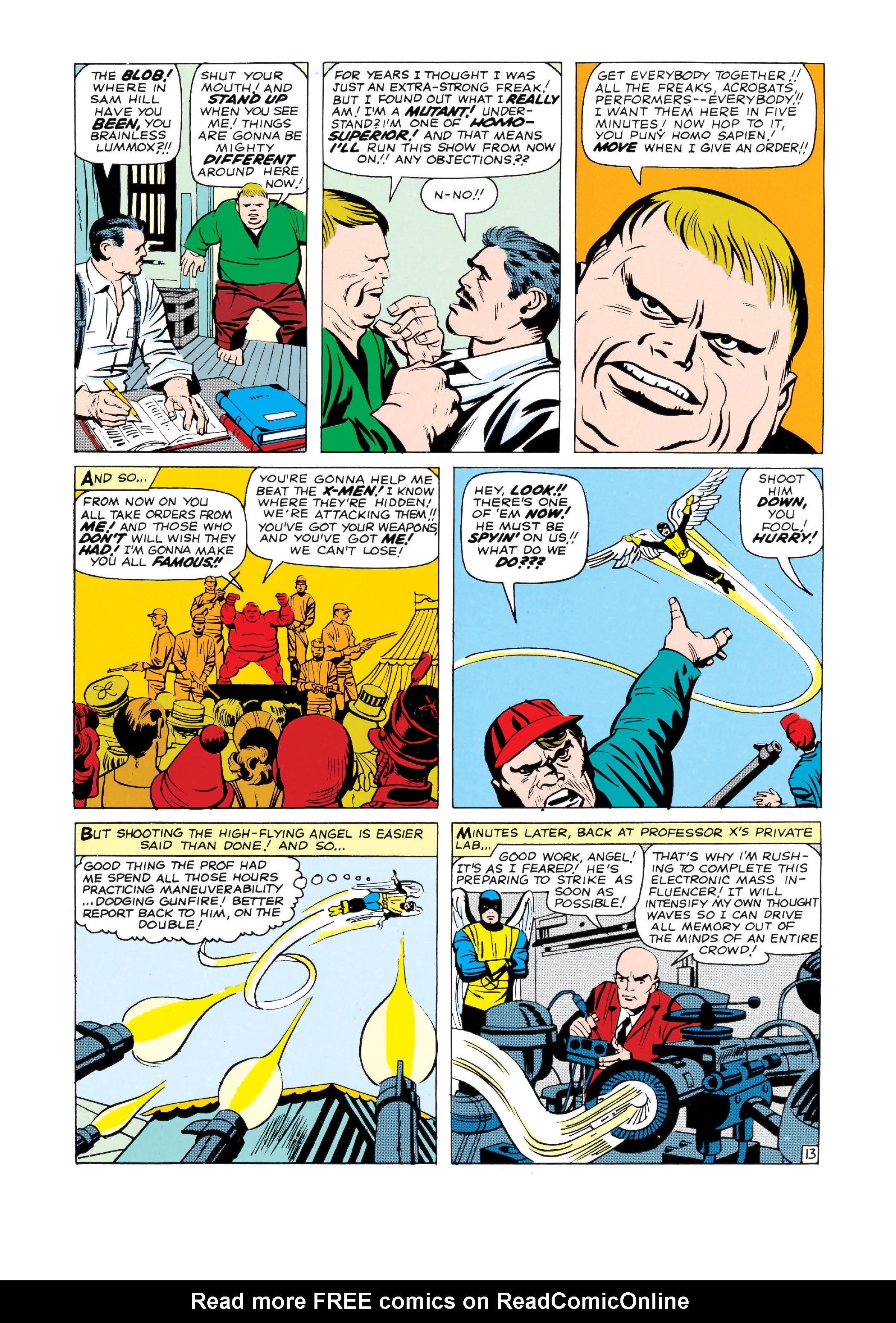 Read online Uncanny X-Men (1963) comic -  Issue #3 - 14
