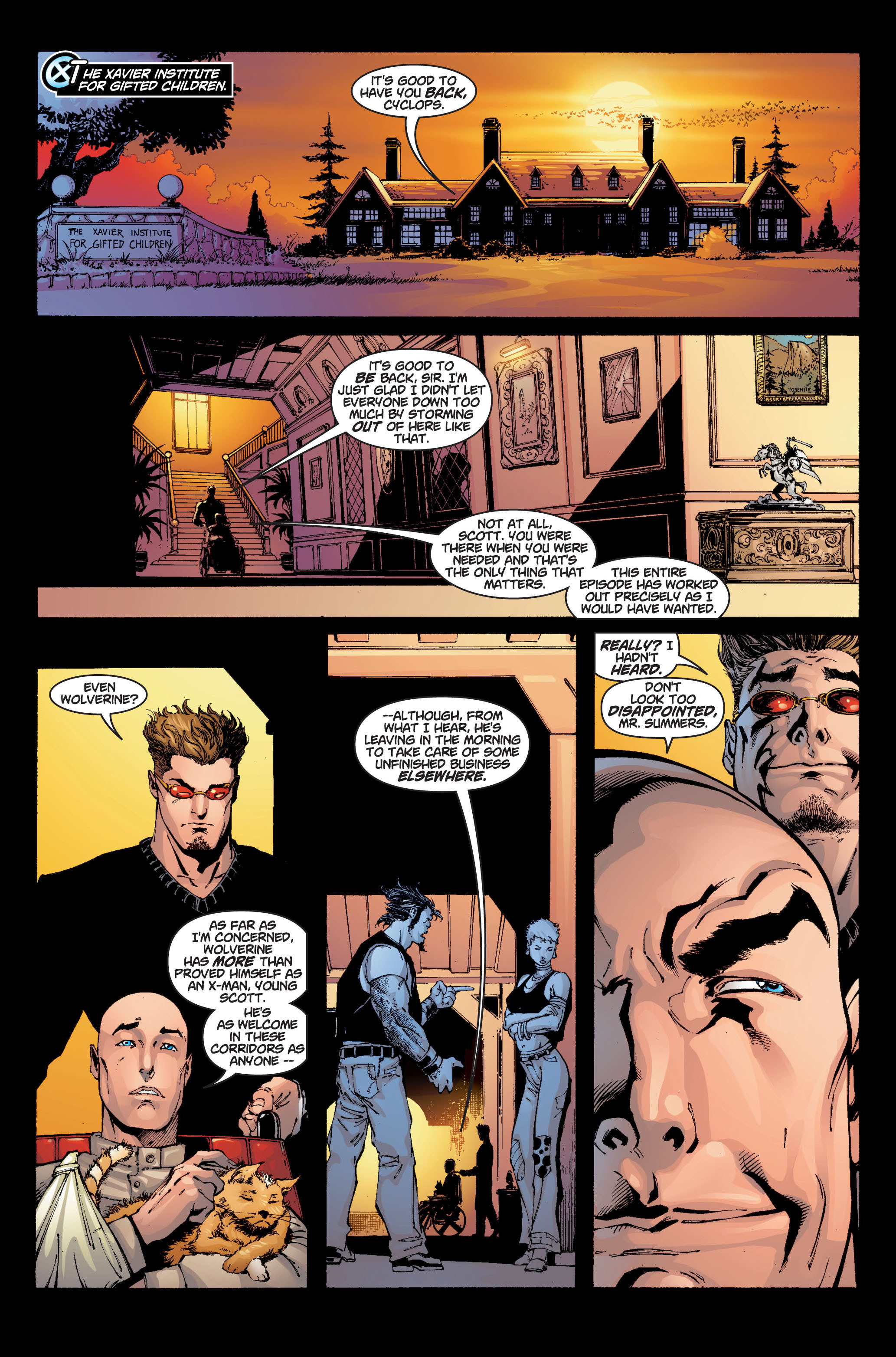 Read online Ultimate X-Men comic -  Issue #6 - 22