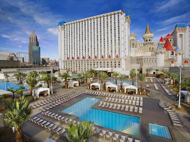 Piscina Excalibur Hotel Las Vegas