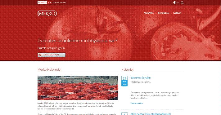 Türkiye'deki domates salçası ve biber salçası üreticileri ve ihracatçıları.- Merko Firması