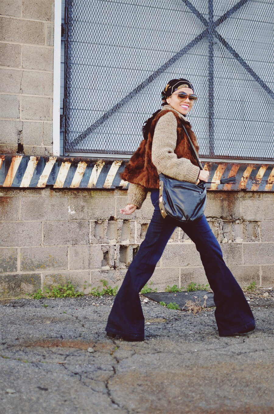 Bell bottoms street style