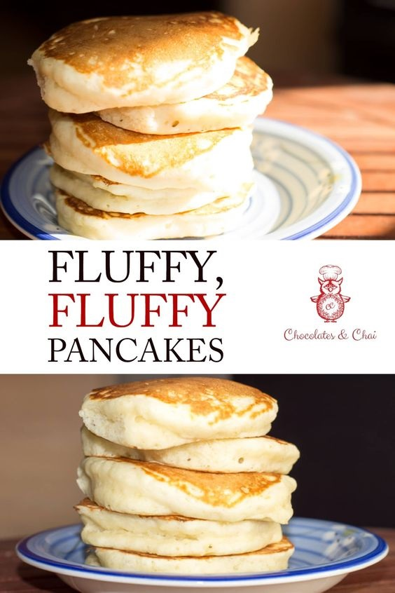 fluffy  fluffy pancakes