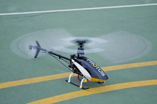 Blade helicopter Fusuno custom canopy