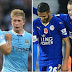 Leicester City 0-2 Manchester City (de Bruyne and Jesus on target for rampant City at King Power Stadium)