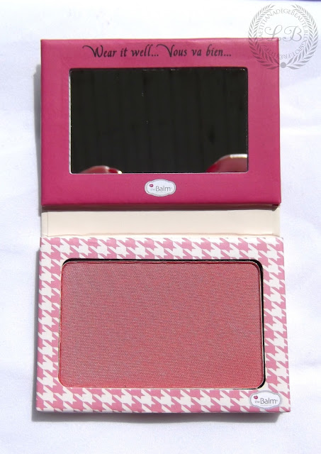 THEBALM COSMETICS - Instain Long Wearing Staining Powder Blush.HOUNDSTOOTH