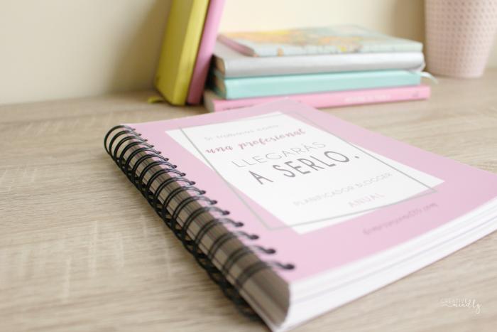 agenda bonita organizar blog