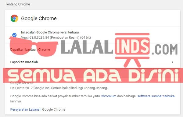 Download Google Chrome 64.0.3282.119 Offline Installer Terbaru