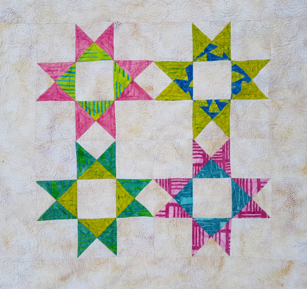 Reach for the Stars quilt | DevotedQuilter.blogspot.com