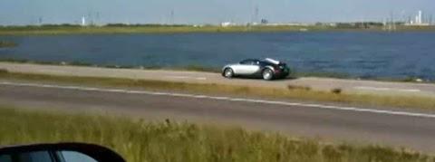Bugatti Veyron Crashed On Purpose