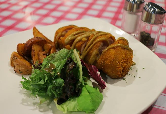 Cafe Etc is western with an Italian twist