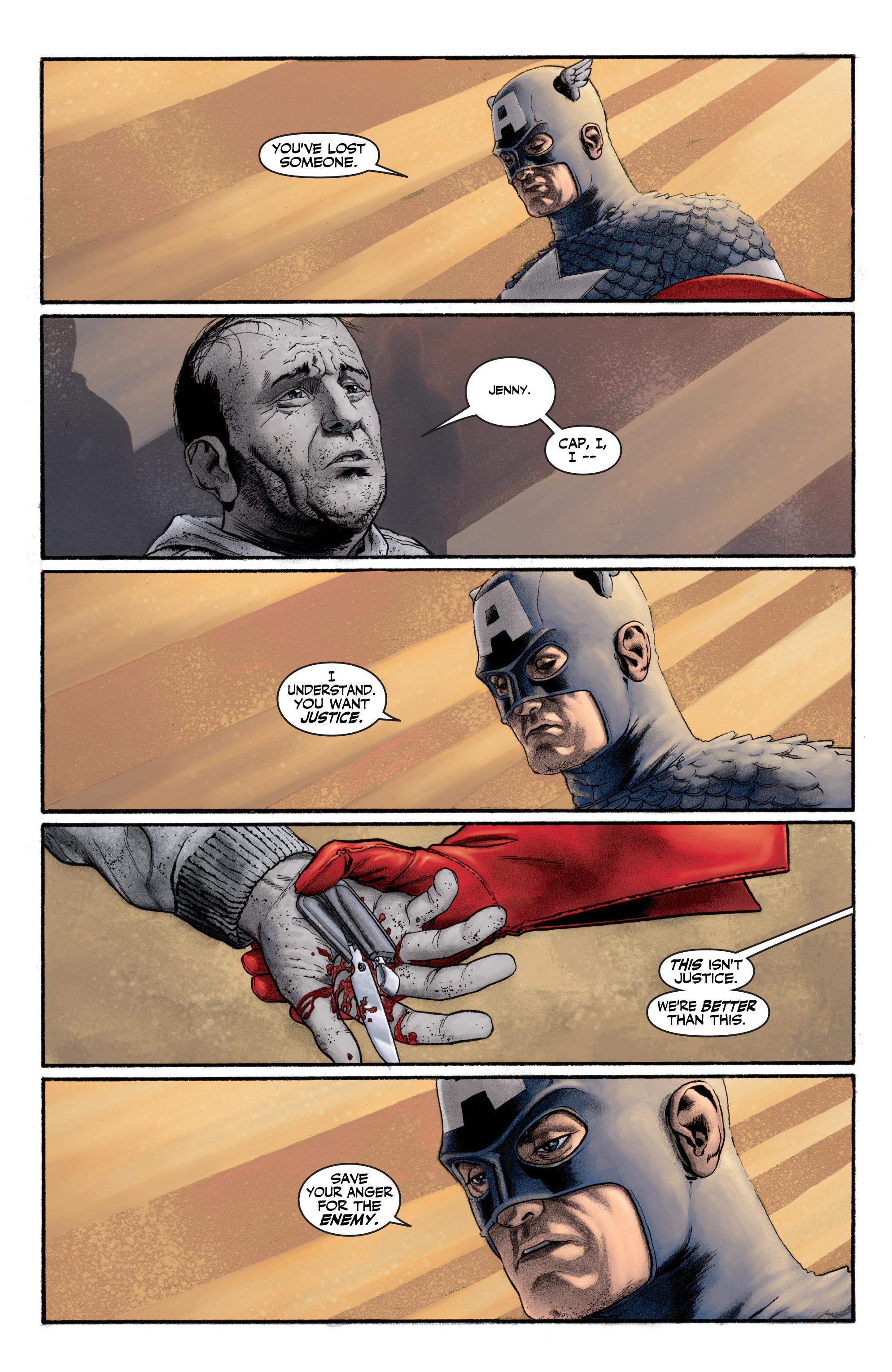 Captain America (2002) Issue #1 #2 - English 22